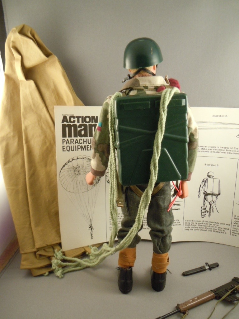 Action Man Vintage Action Man British Parachute Regiment